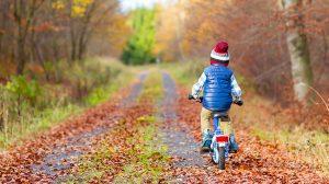 Cyklande barn – säkerheten kommer först